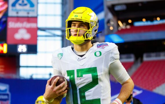 Oregon beginning QB Tyler Shough entering transfer portal with three years of qualification remaining
