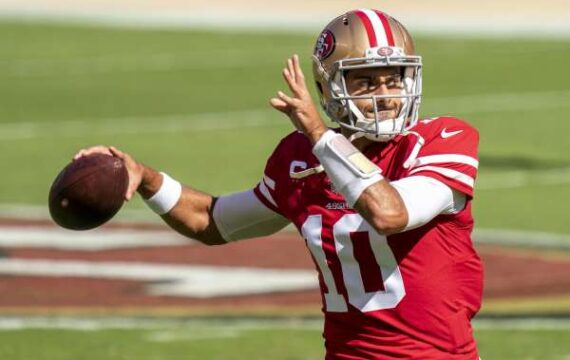John Lynch has no uncertainty Jimmy Garoppolo will begin for the 49ers in 2021