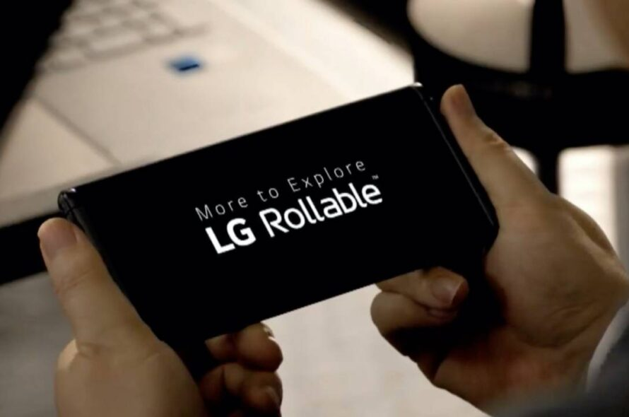 LG's rollable phone project to be postponed