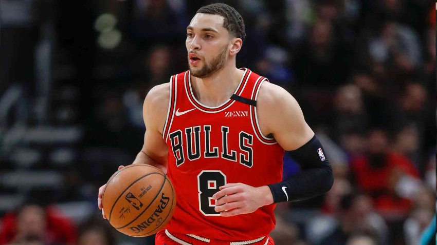Bulls partners respond to Zach LaVine acquiring first All-Star nod