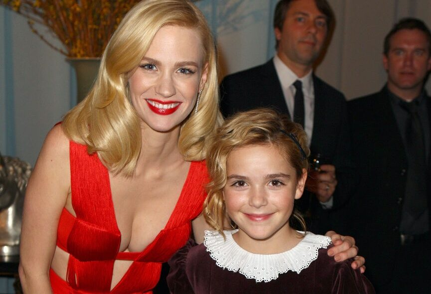 January Jones and Kiernan Shipka proposed on their Golden Globes dresses from 10 years prior, they actually appear to fit