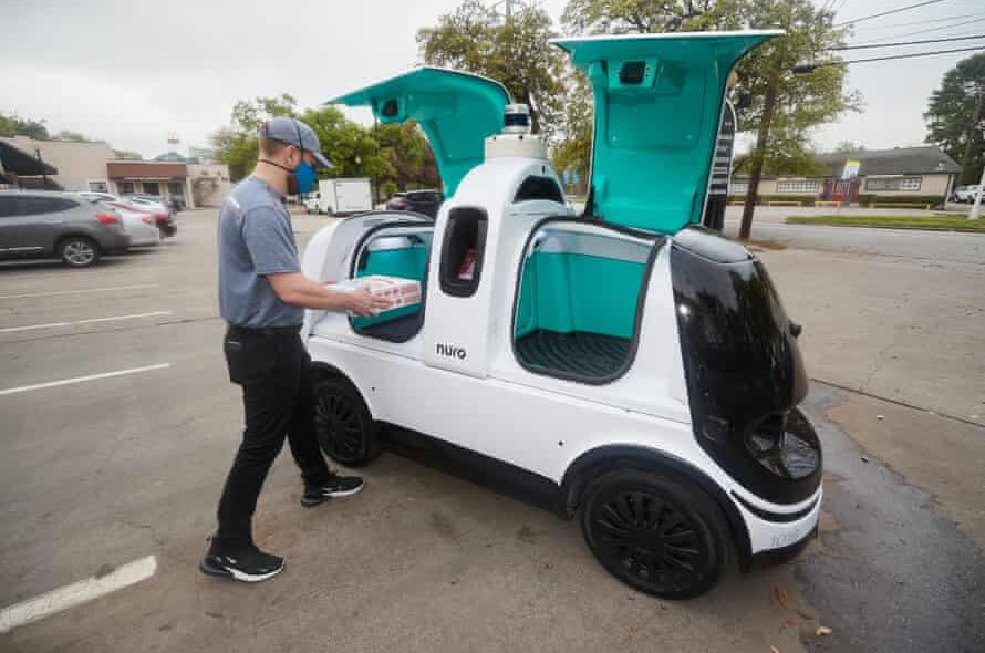 Domino's will start a robotic pizza delivery service in Houston