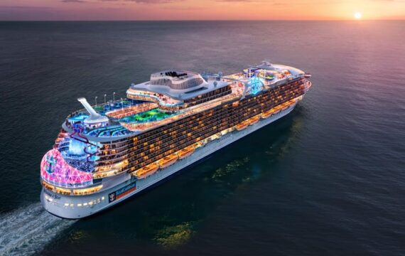 Royal Caribbean produces 'world's largest cruise ship' accessible for booking