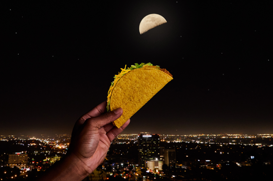 Taco Bell begins new promotion dependent on a lunar phenomenon happening next month: Taco Moon