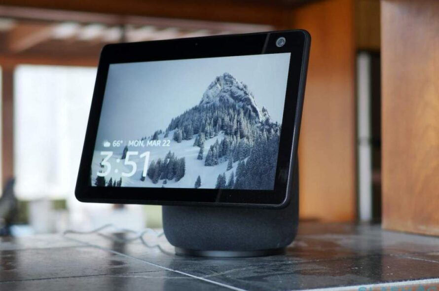 Zoom presently operates on Amazon's Echo Show 10