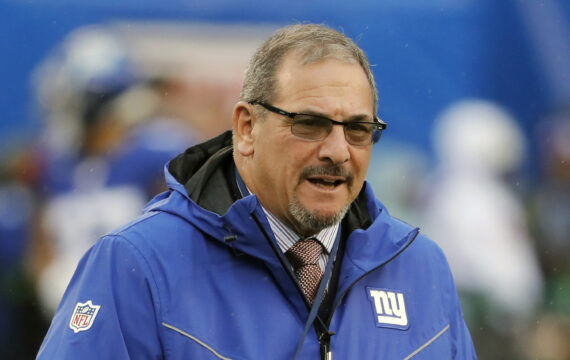 Giants GM Dave Gettleman calls it an 'urban myth' he will not trade back in the NFL draft