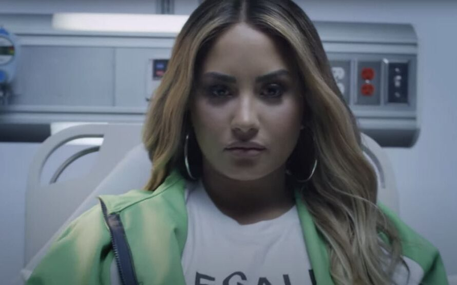 Demi Lovato reproduces her overdose in 'Dancing With the Devil' video