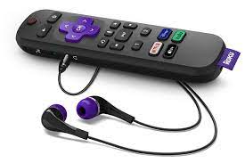 Roku battery-powered remote listens for 'Hey Roku' voice commands, prices $30