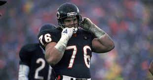 Previous Chicago Bear and Super Bowl XX champion, Steve McMichael, doing combating ALS