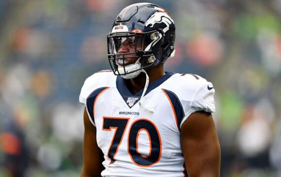 Broncos cut Ja'Wuan James, will probably void his salary after Achilles injury