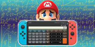 The Nintendo Switch is receiving a calculator application for $10