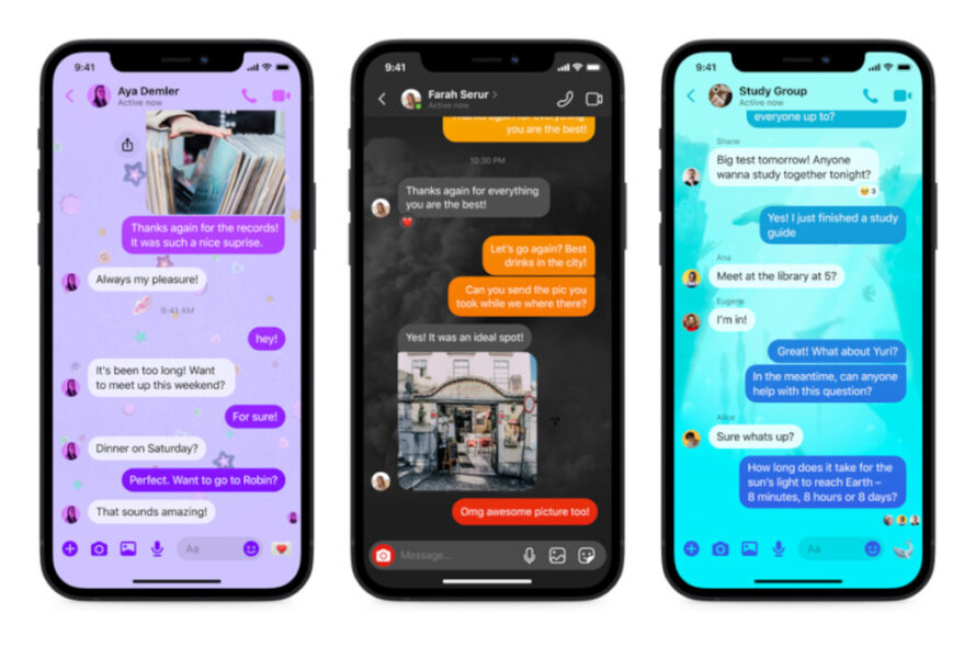 Facebook carries a threesome of new features to Messenger