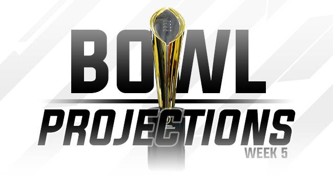 College Football Playoff – SEC bowl projections after Week 5
